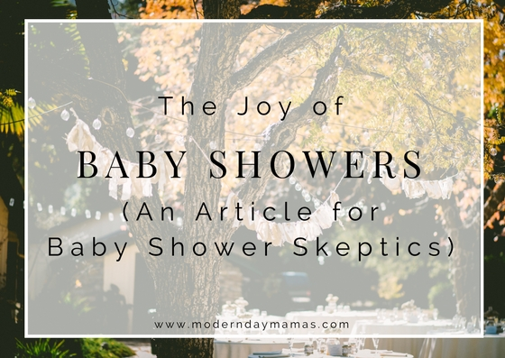 The joy of baby showers