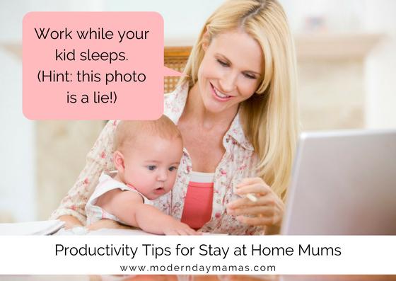 Work at home mum