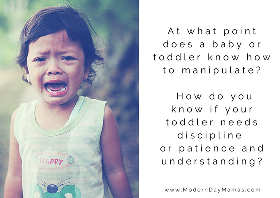 Is my toddler naughty?