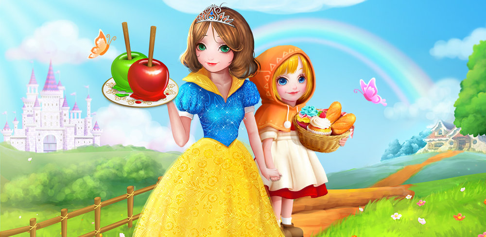 Fairy Tale Food Salon Fun Game  It's time to have a tea party with Alice! Fairy Tale Food: Magic Bakery tells the story of Alice and her sweet adventures down the rabbit hole.