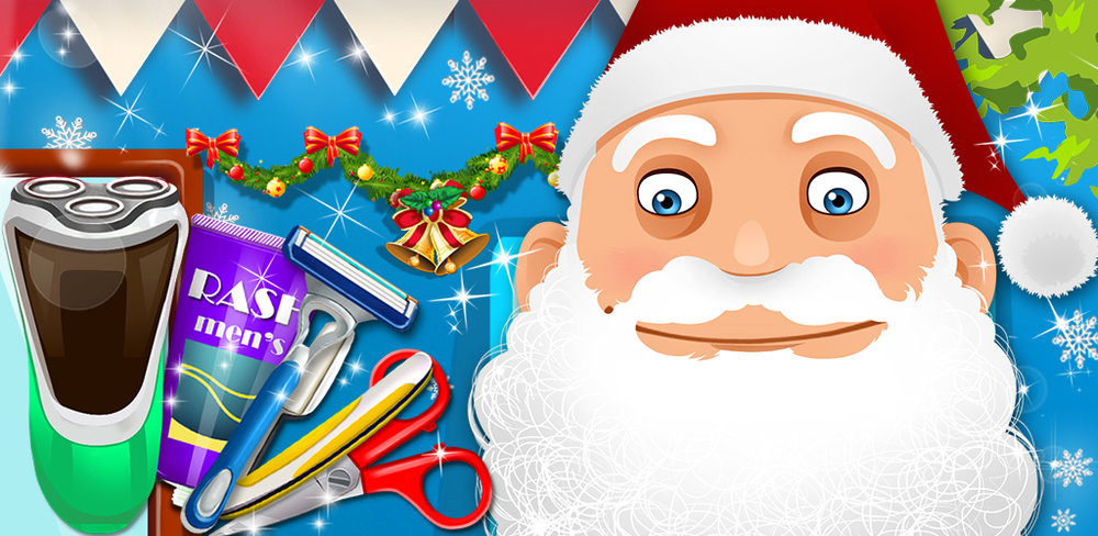 Beard Salon for Santa Claus  Santa Claus Beard Salon is a fun dress up and makeover game made for kids of all ages. You and your family (even the baby!) can sit down and help St. Nick shave.