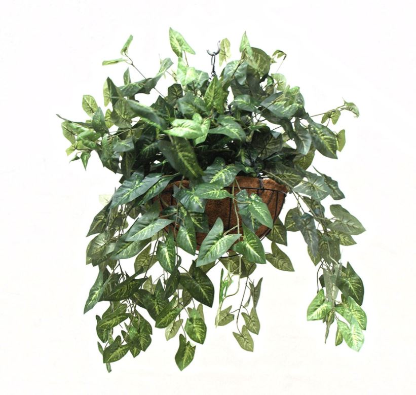SMI National_Waterfall Garden 70cm_Hanging Basket_Artificial Plant.JPG