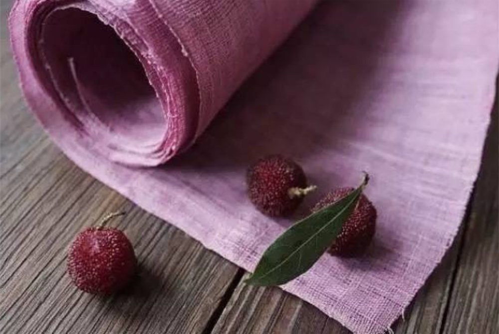 HPF Berry dyed fabric.jpg