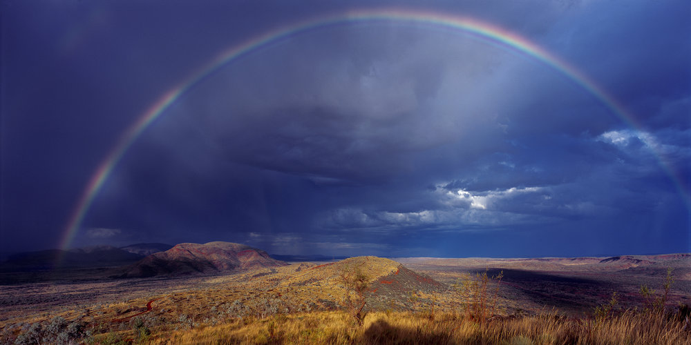 Closing Rainbow, The Governor, Pilbara, Western Australia, 2013.  Edition of 3.