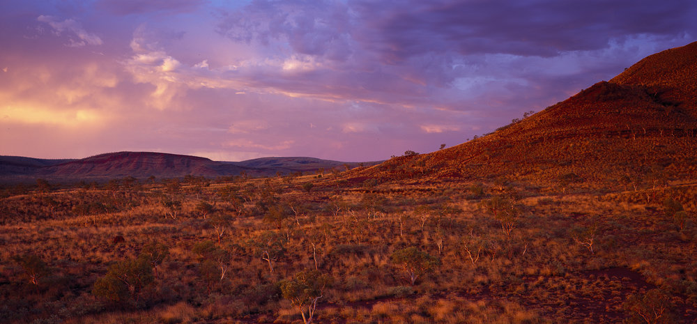 View Looking West from Mt Delphine, Hamersley Range, Western Australia, 2015. Edition of 3.