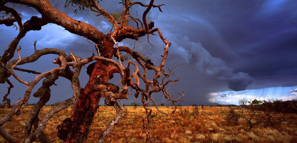 Build-up Storm, Hamersley Range, Paraburdoo, Western Australia, 2006. Edition of 5.