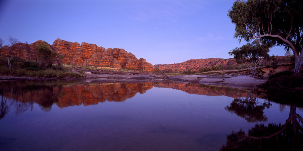 Dawn Reflections, Bungle Bungles, Kimberley, Western Australia, 2008.  Edition of 3.