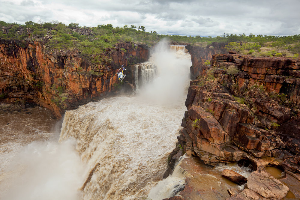 Mitchell Falls in Full Flood, February, 2011.  Edition of 3.