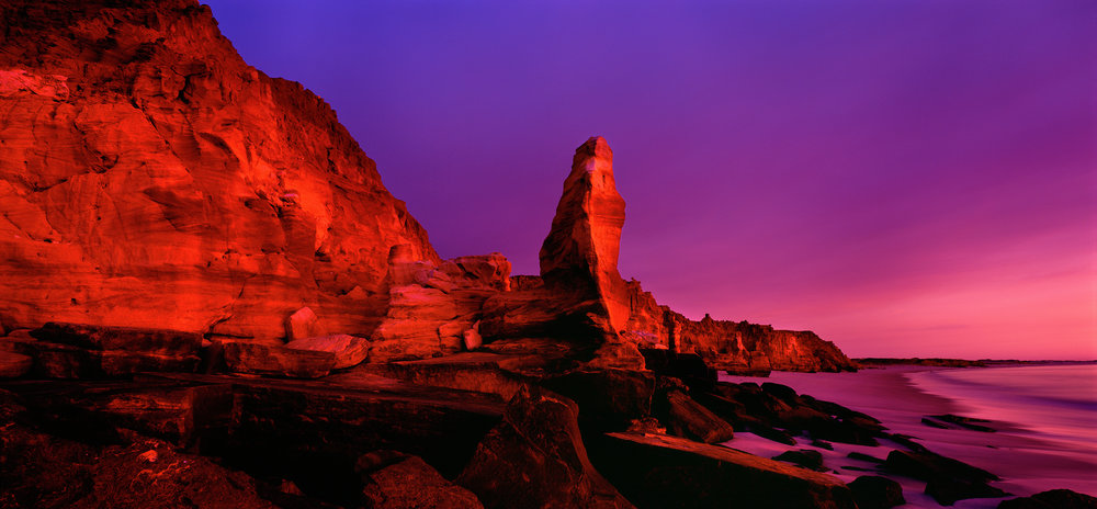 Spectacular Afterglow, Cape Leveque, Kimberley, Western Australia, 2008.  Edition of 3.