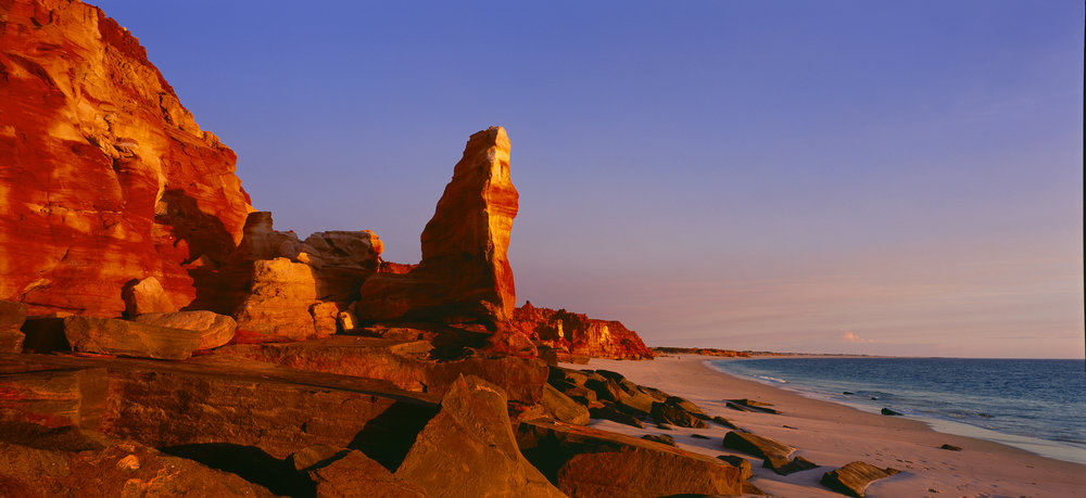 Western Beach, Cape Leveque, Kimberley, Western Australia, 2008.  Edition of 3.