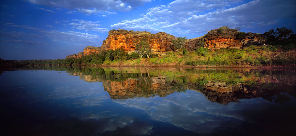 The Upper Reaches of Geikie Gorge, Kimberley, Western Australia, 2004.  Edition of 3.