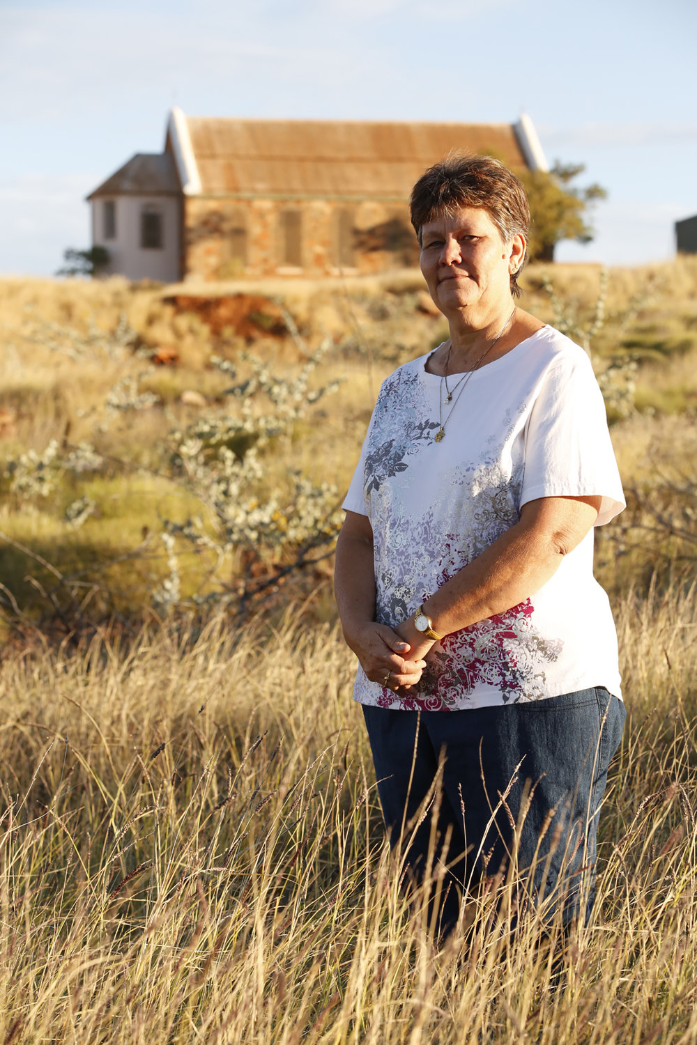 Ruth Ellis, Manager, Roebourne Visitor Centre, 2015.  Edition of 3.