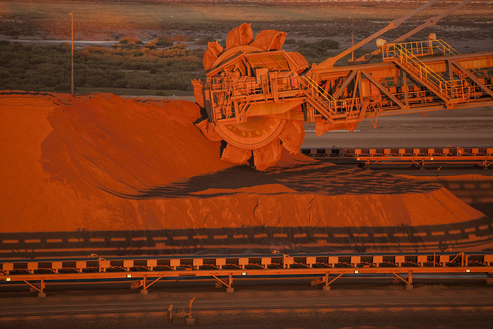Reclaimer, Anderson Point, Port Hedland, Western Australia, 2011.  Edition of 3.