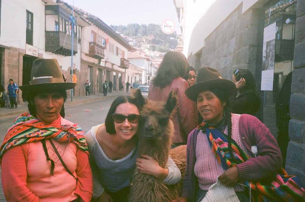 Peru: cuddling every Alpaca I could find