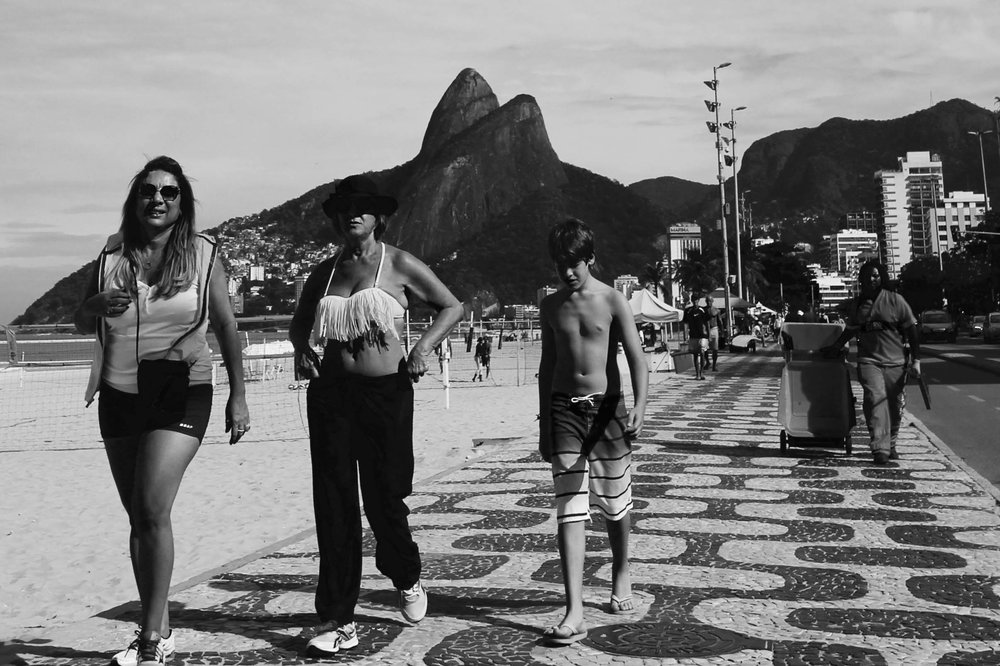 Brazil: a walk down Ipanema beach