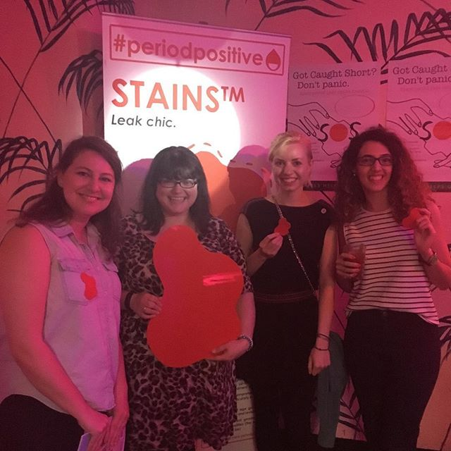 Type 🔴 if you've ever had a period stain/leak! Chella at @period_positive is doing some AMAZING work to break down taboos around periods 👏👏👏 @bloodybigbrunch #periodproblems #periodpositive
