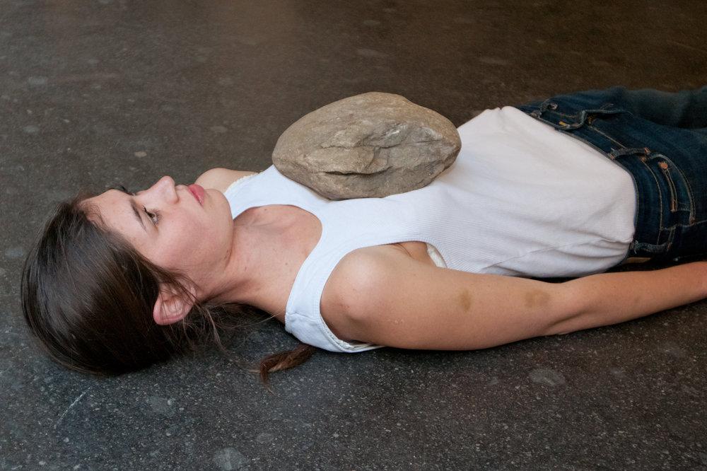 Performance von  Maura Wittmer , März 2012