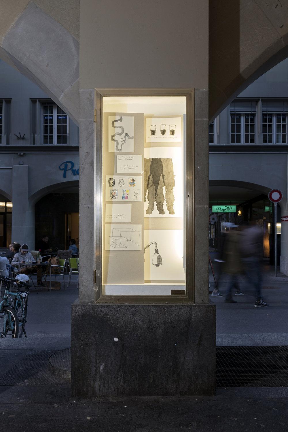 Lukas Kreuzer Samuel Rauber Substrat Projektraum Bern