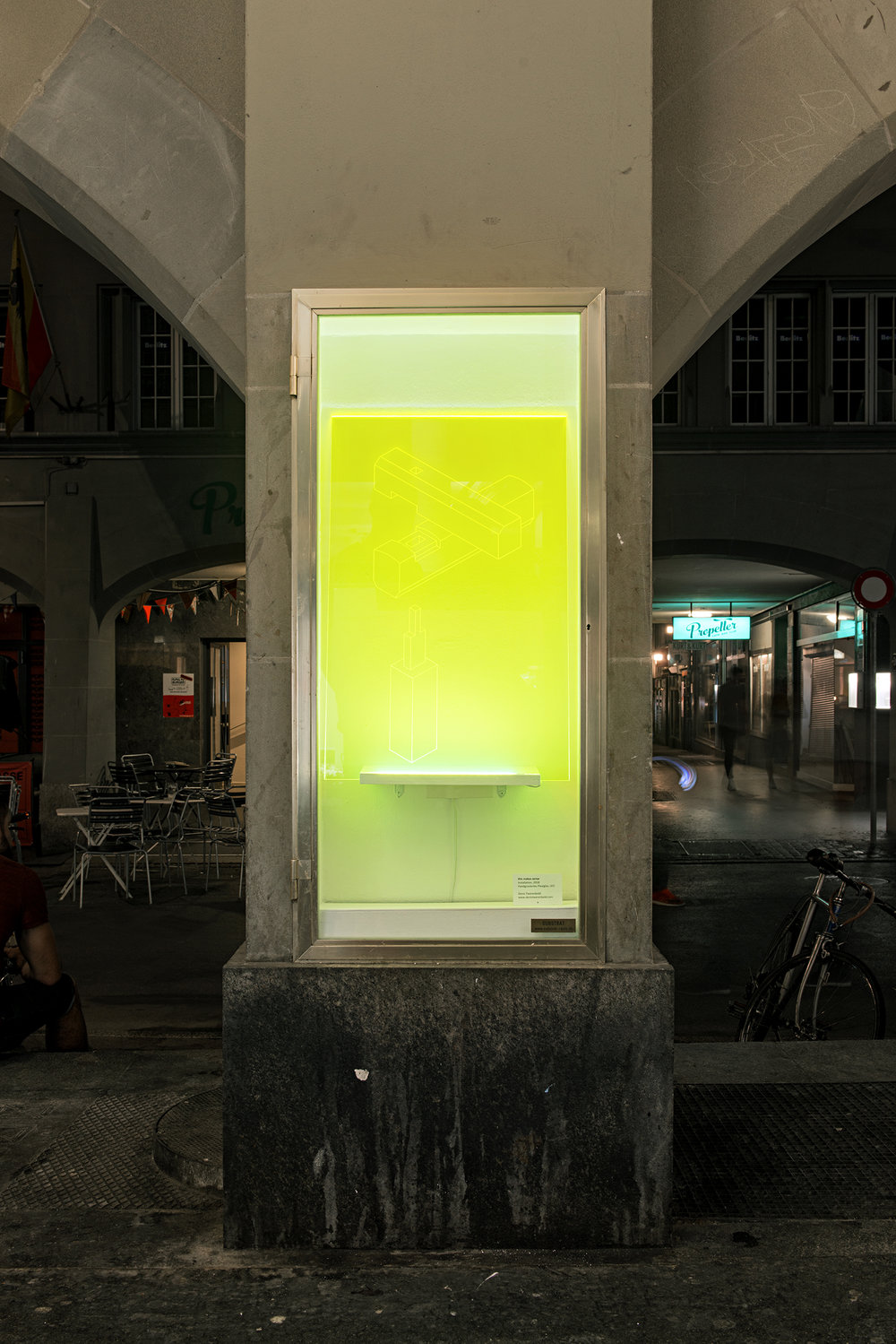 Denis Twerenbold Substrat Bern Kunstraum Offspace Samuel Rauber