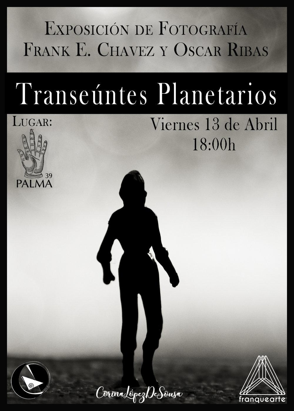 Transeúntes Planetarios de Frank Chavez y Oscar Torres. Comisariada por: Corina De Sousa