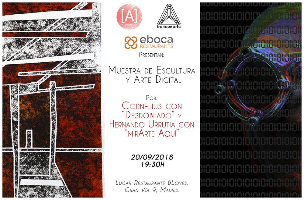 Exposición de Arte Digital y Escultura