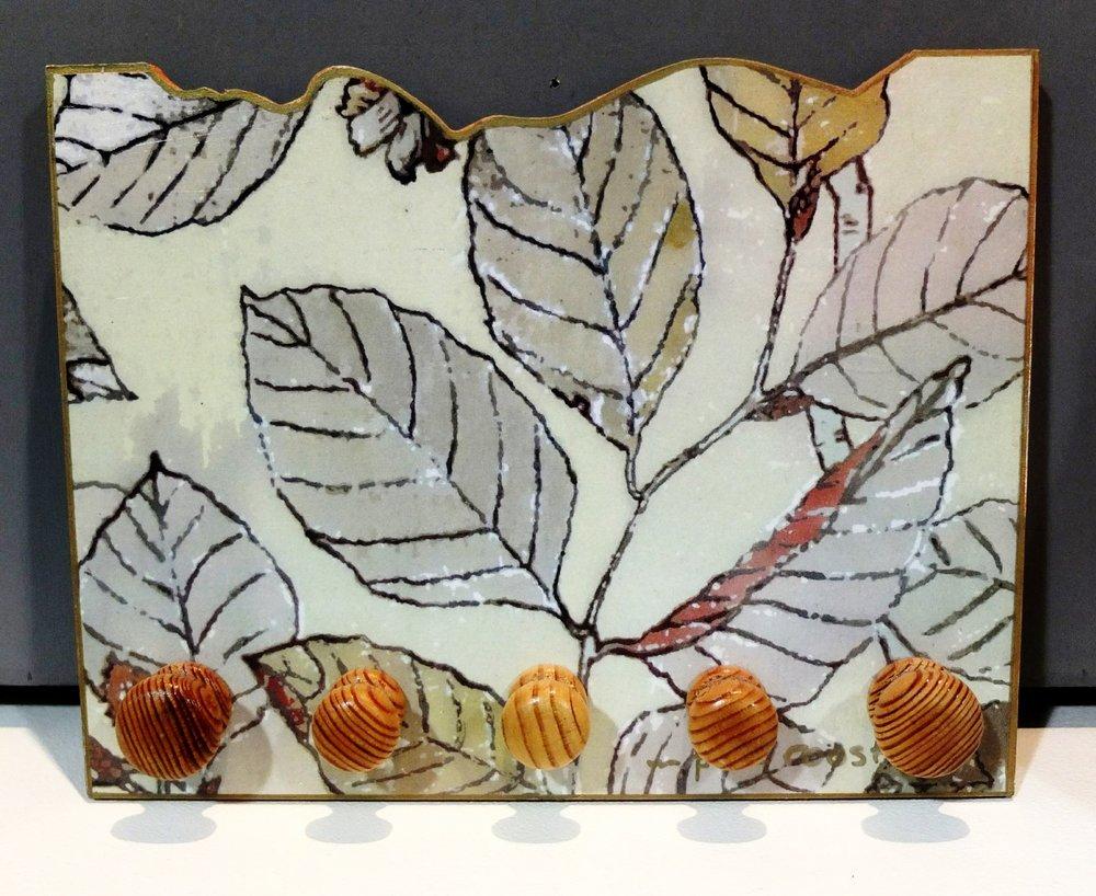 kate cochrane website - Beech Leaves Tea-Towel pegs.jpg