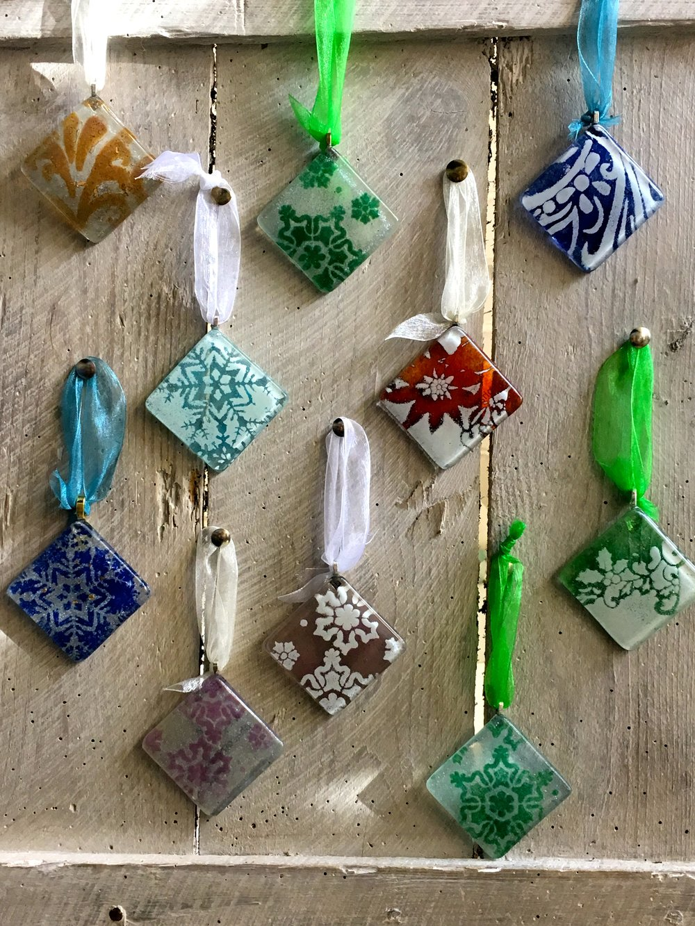 phaedra glass website - XMAS TOKENS mixed.jpg