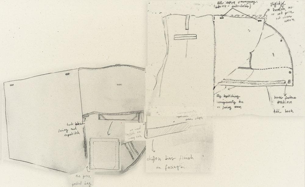 Work drawings