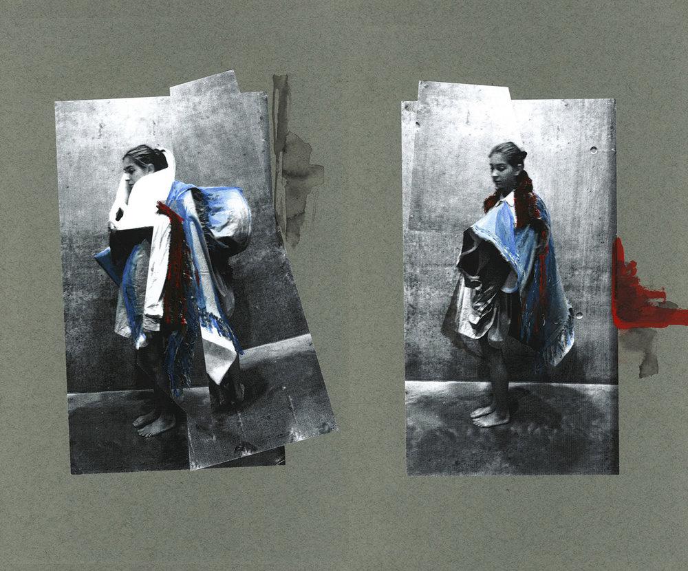 'Boro' - Design Development - Fashion Folio CSM '14/15