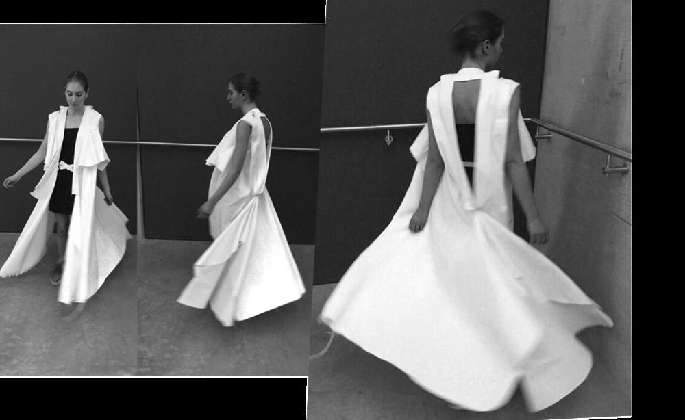 Creative Cutting Project - Graduate Diploma CSM Fashion '15