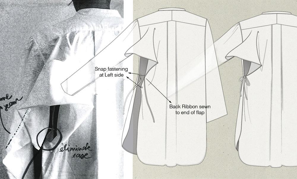 'Boro' - Lookbook: White shirts - Fashion Folio CSM '15