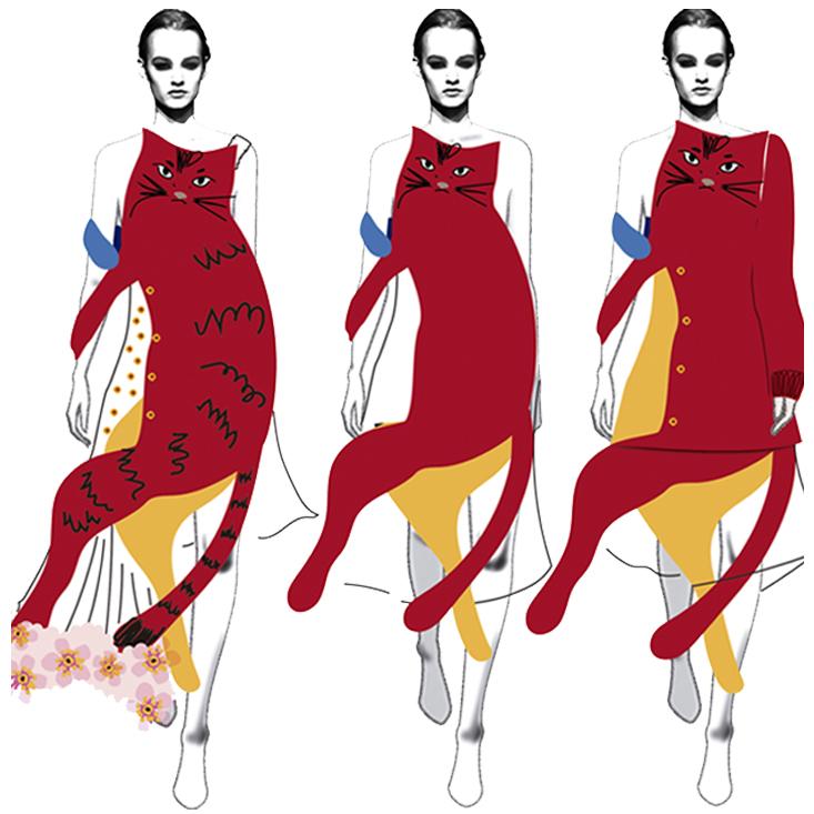 'Project Me' - Graduate Diploma CSM Fashion '15