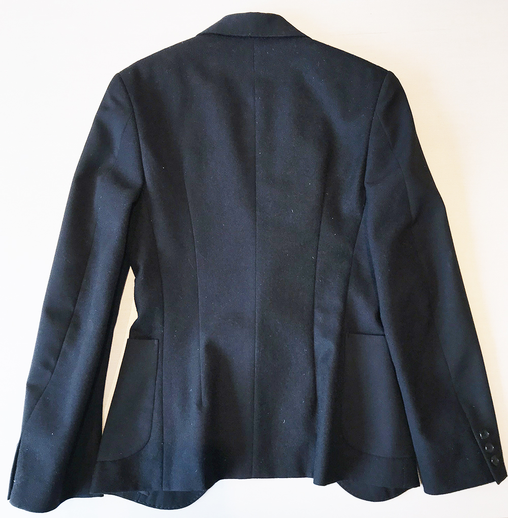 Jacket - Back (unbuttoned as it was forming wrinkles)