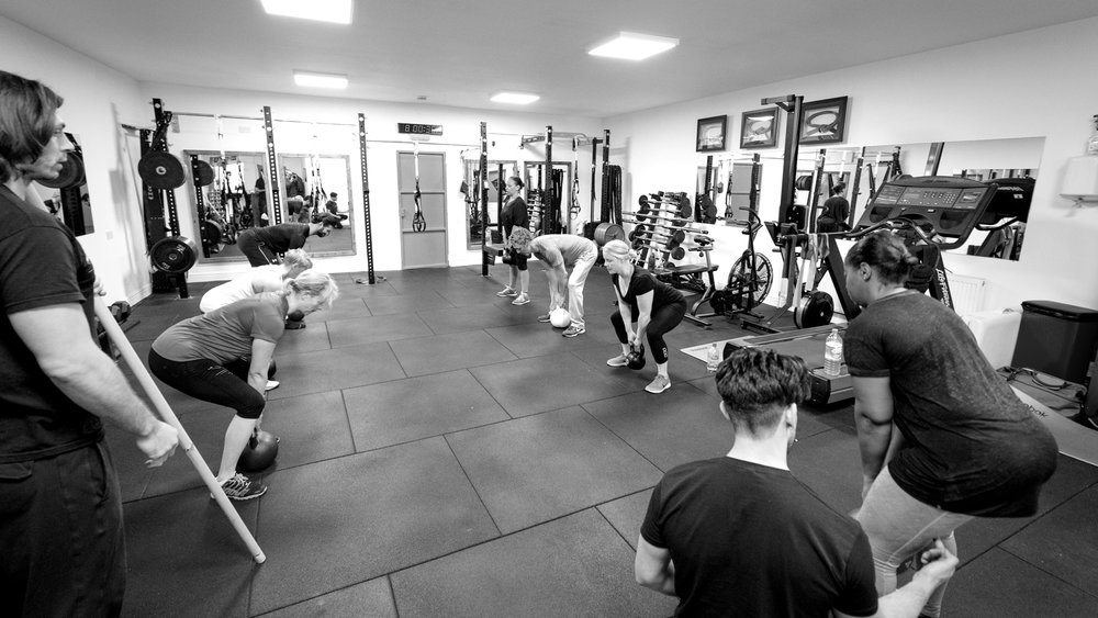 Tota Body Conditioning  - High calorie-burning workouts using a combo of cardio drills kettlebells,TRX, slam balls and much more to get you moving and toned.These classes are a great way of elevating your heart rate, increasing your strength, destroying body fat, as well as getting the most out of your time in the gym.