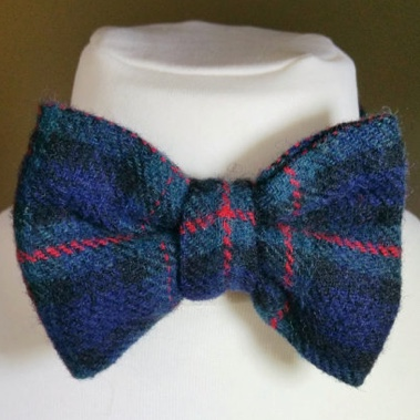Tartan boys bow tie from Vincent Elvis