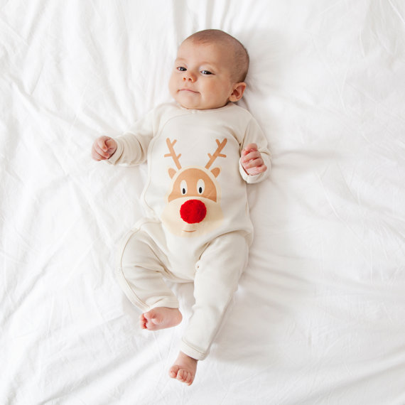 Nearly everyone I know has a new pyjamas for Christmas tradition. I ADORE these awesome Reindeer pom-pom pyjamas from PJ Mamma. (they come in adult size as well!)