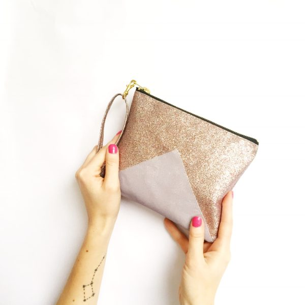 Get ready for the party season with my glitter clutch bags, they have removable wrist straps, which means you can keep your hands free for booze and nibbles.