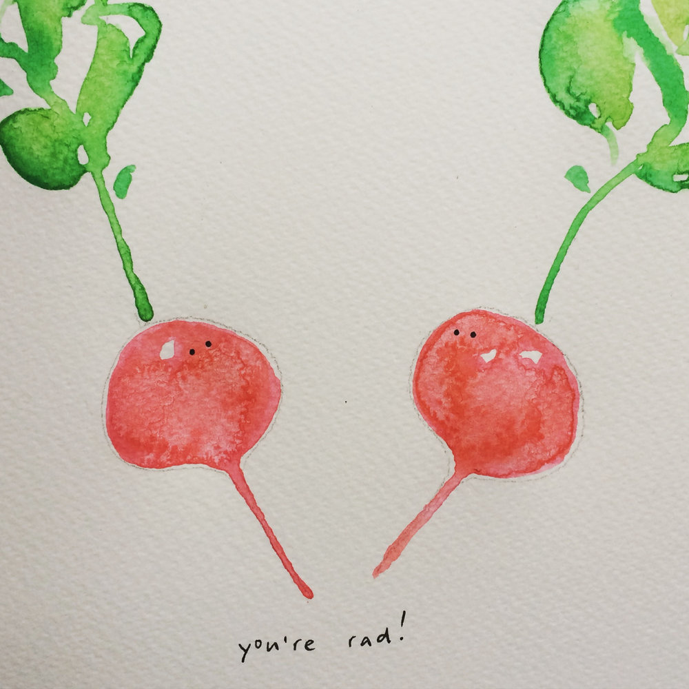 You're rad!