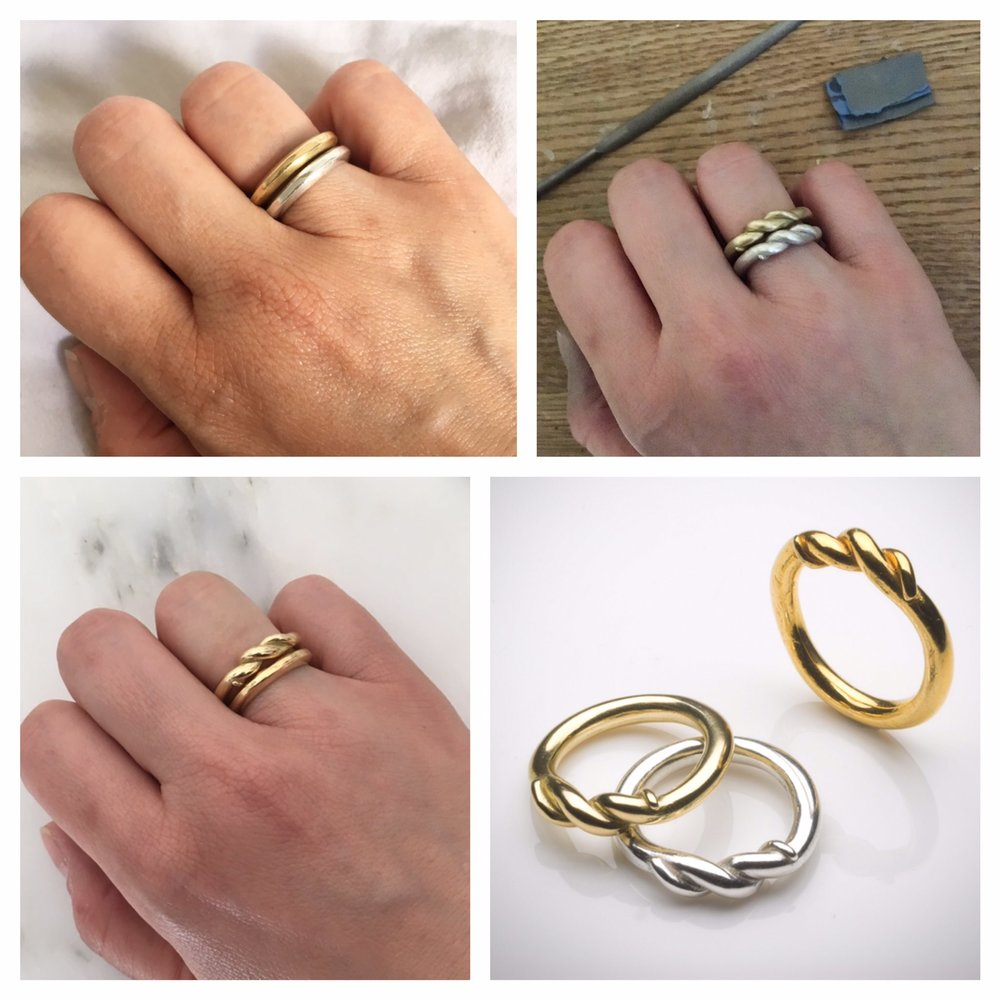Naomi Tracz wedding rings