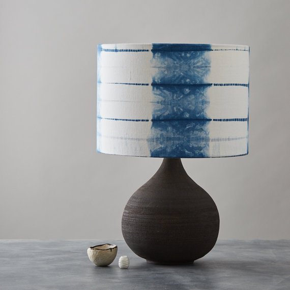 blue shibori lampshade.jpg