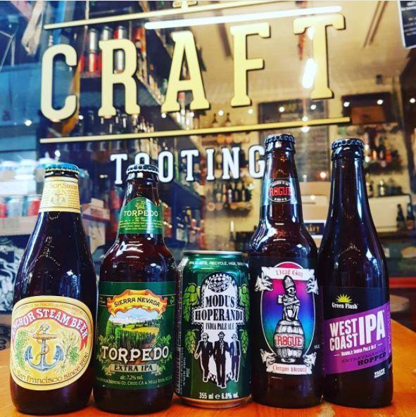 Craft Tooting is definitely worthwhile if you're into interesting beers!