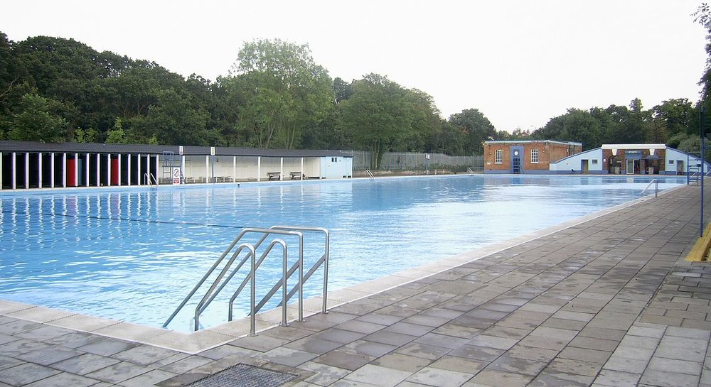 Are you brave enough to swim in the Tooting Lido in winter? If you are, make sure to become a member of the SLSC to be allowed in!