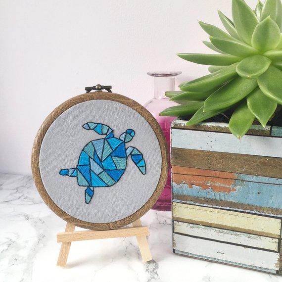 Sea Turtle Nursery Art
