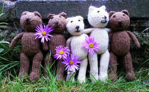 Sleepy Bears - lavender-filled