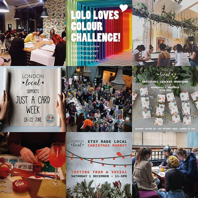 We've all made it to the last Friday before Christmas! Thank you to everyone we have collaborated with, to all the people who came to support our #etsymadelocaluk and all our team members. Here's to looking forward to 2019! @londoncraftclub @hackneycoffeeco @tootingtramandsocial @justacard