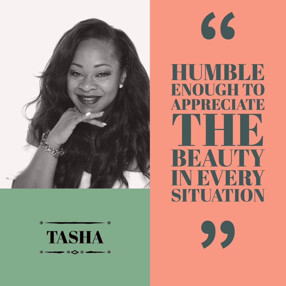 Tasha has a soft charm. She's very kind, considerate, and passionate about her work. Tasha is skilled and possesses great bedside manner. Get to know her below.