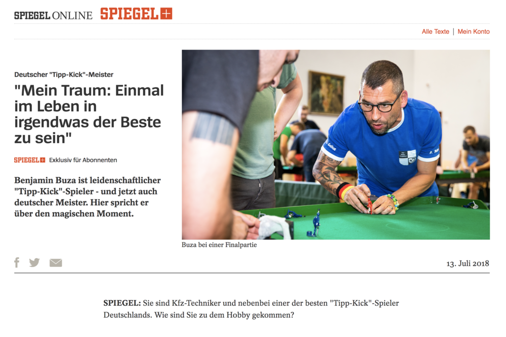 DER SPIEGEL (Germany), July 2018