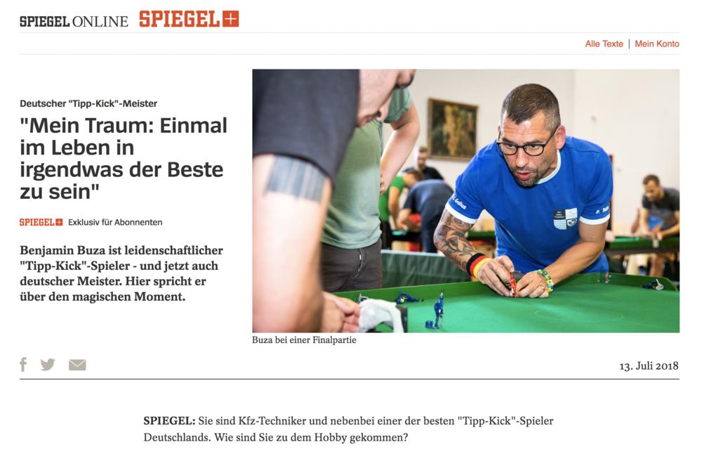 DER SPIEGEL (Germany), July 2018