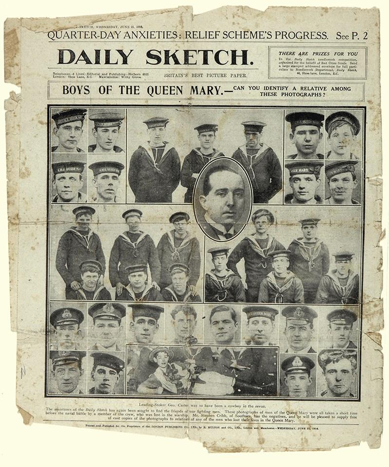 Help identify men lost at sea in the Battle of Jutland .jpg