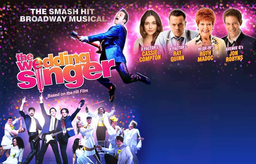 The Wedding Singer at Portsmouth's Kings Theatre